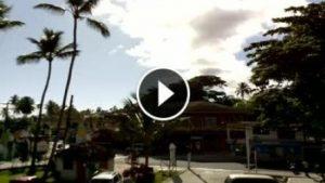 Webcam nel centro turistico di Las Terrenas