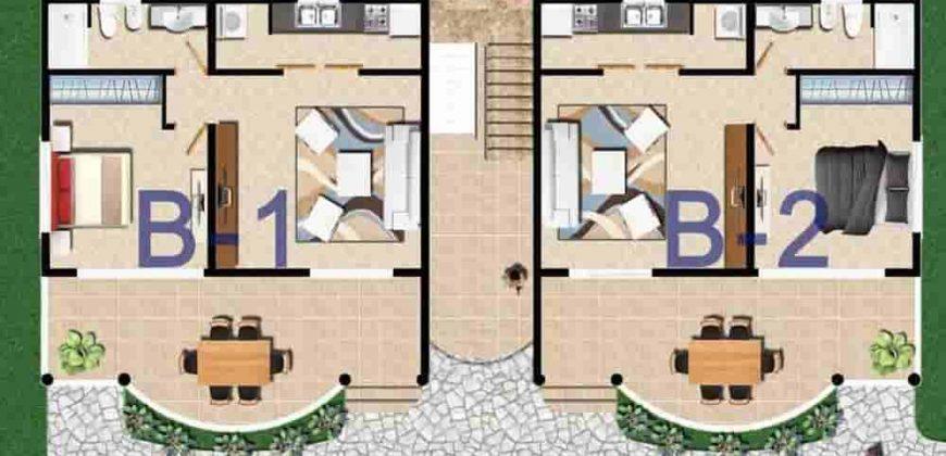 Vendesi appartamenti in residence in costruzione a las terrenas