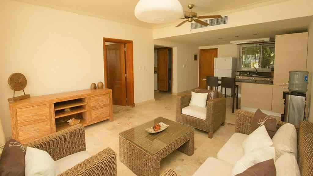 Vendesi appartamento da due camere in residence fronte mare Punta Cana