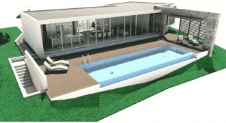 Vendiamo terreno con progetto villa approvato