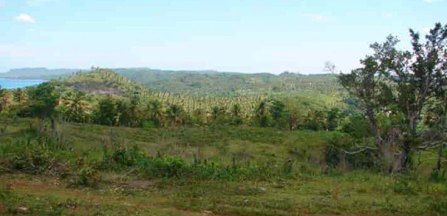 Terreno di 23,5 ettari in vendita a playa Rincon vicino Las Galeras